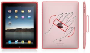 iPadGlove - handy iPad holder (case)